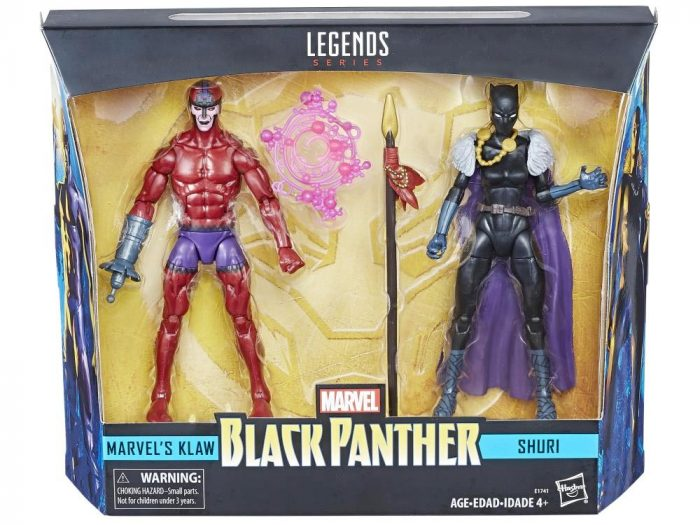 Marvel Legends - Shuri and Claw Two-Pack
