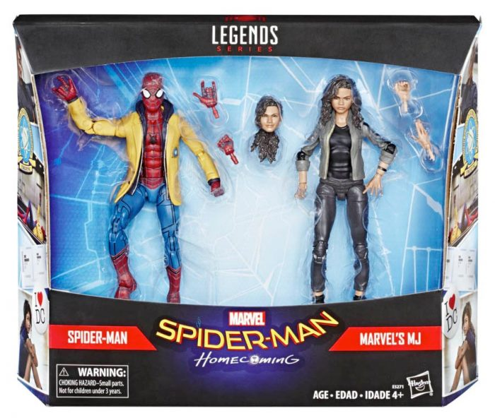 Marvel Legends - Spider-Man Homecoming - Spidey and MJ