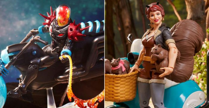 Marvel Legends Ultimates - Cosmic Ghost Rider and Squirrel Girl