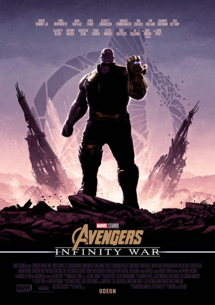 matt ferguson infinity war poster
