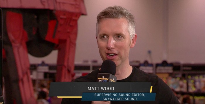 matthew wood sound editor of star wars rogue one - Lucasfilm sound group interview