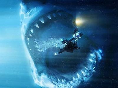 Мегалодон (Megalodon) - вид огромной доисторической акулы.  Хищник населял океаны в...