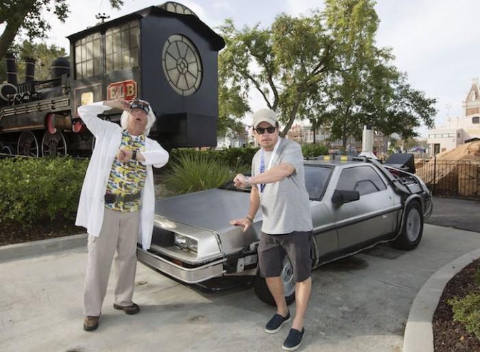 Michael J. Fox universal studios