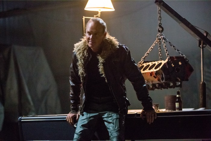 michael keaton as the vulture in spiderman homecoming