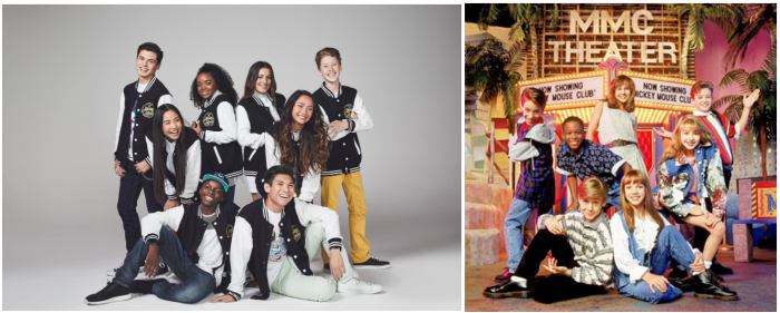 mickey mouse club then and now