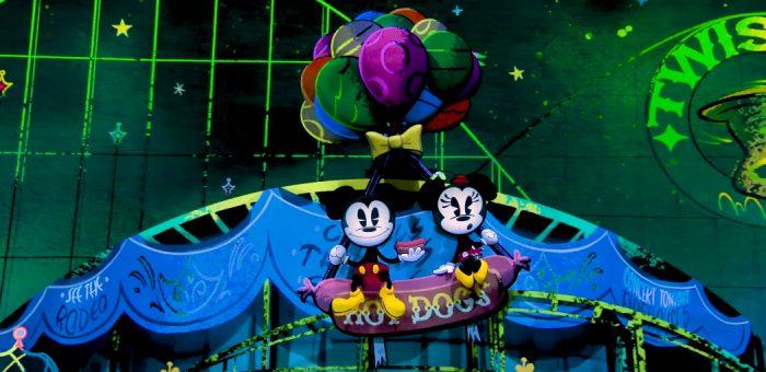 Mickey and Minnie's Runaway Railway Ride Through Video