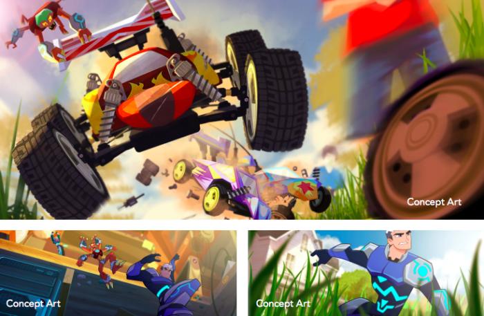 micronauts animated series concept art