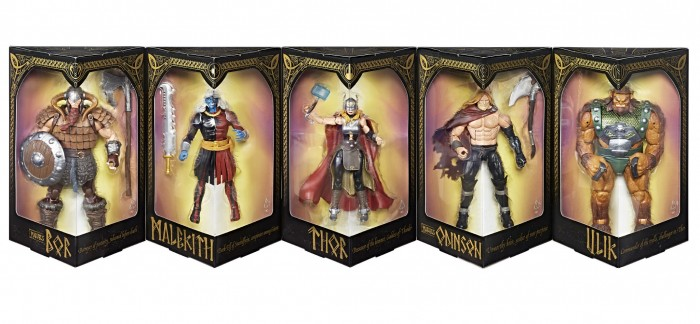 The Mighty Thor Figure Pack
