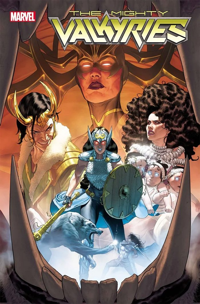 Mighty Valkyries Comic Cover