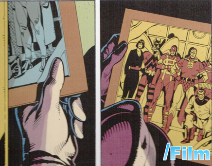 Minutemen Comic Book Watchmen