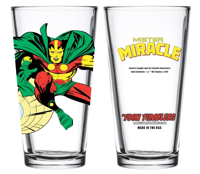 Mister Miracle Pint Glass