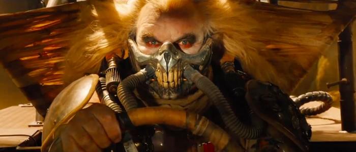 Hugh Keays-Bryrne from Mad Max returns to play Immortan Joe.