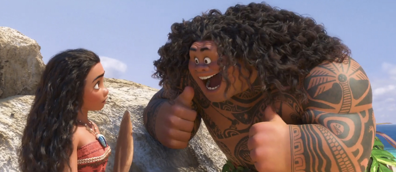 you re welcome moana clip delivers dwayne johnson s entire musical