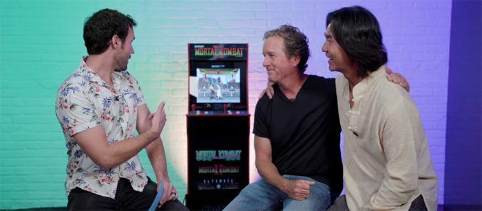 Mortal Kombat Stars Play Mortal Kombat