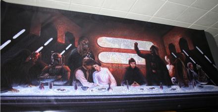 Cool Stuff: Star Wars Last Supper Mosaic