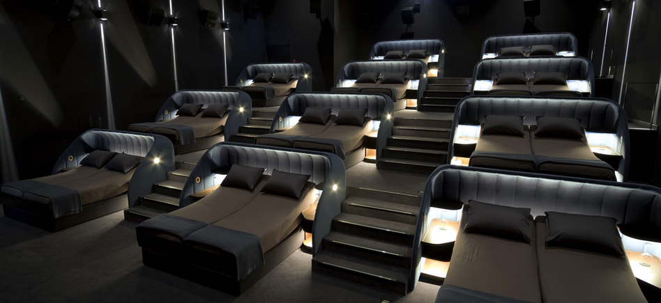 Switzerland Invites You To Climg In Their Movie Theater Beds Film