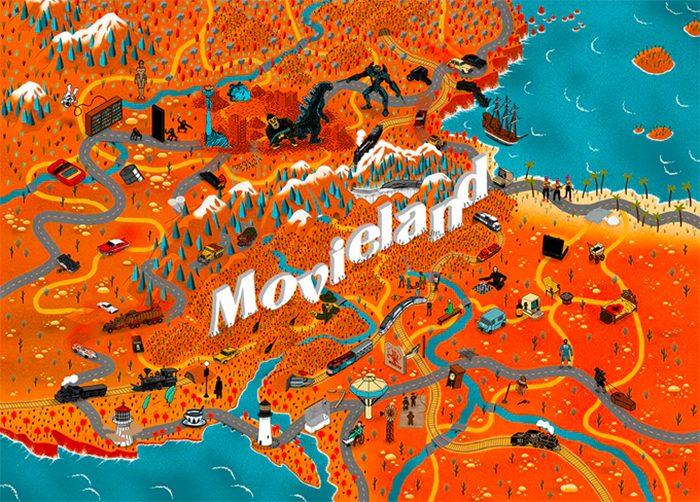 Maps of Movieland