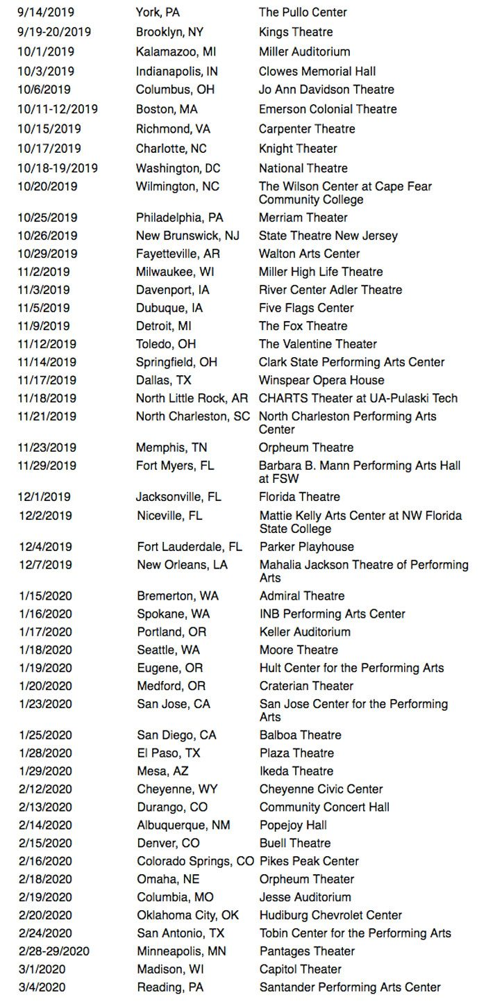 Mystery Science Theater 3000 2019 Live Tour Dates