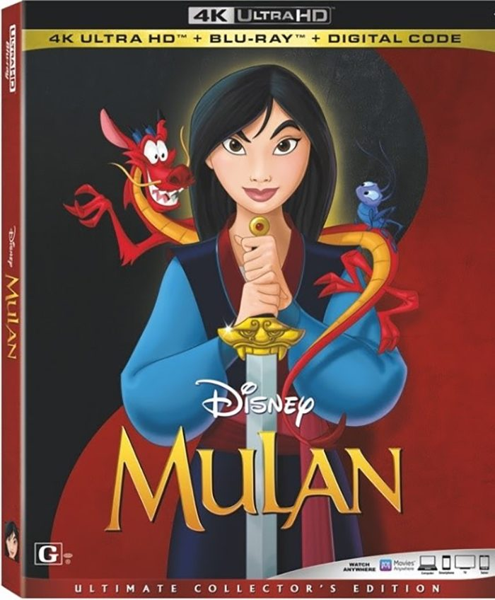 Mulan Animated 4K Ultra HD