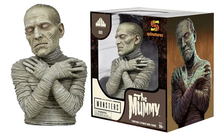 Waxwork Records The Mummy Spinature