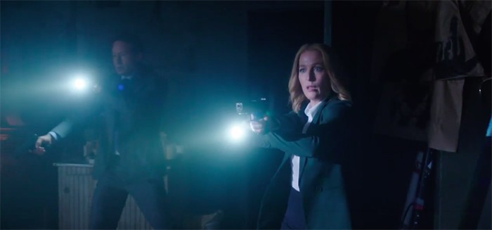 new X-Files footage