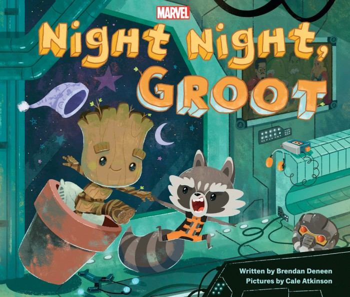 Night Night Groot