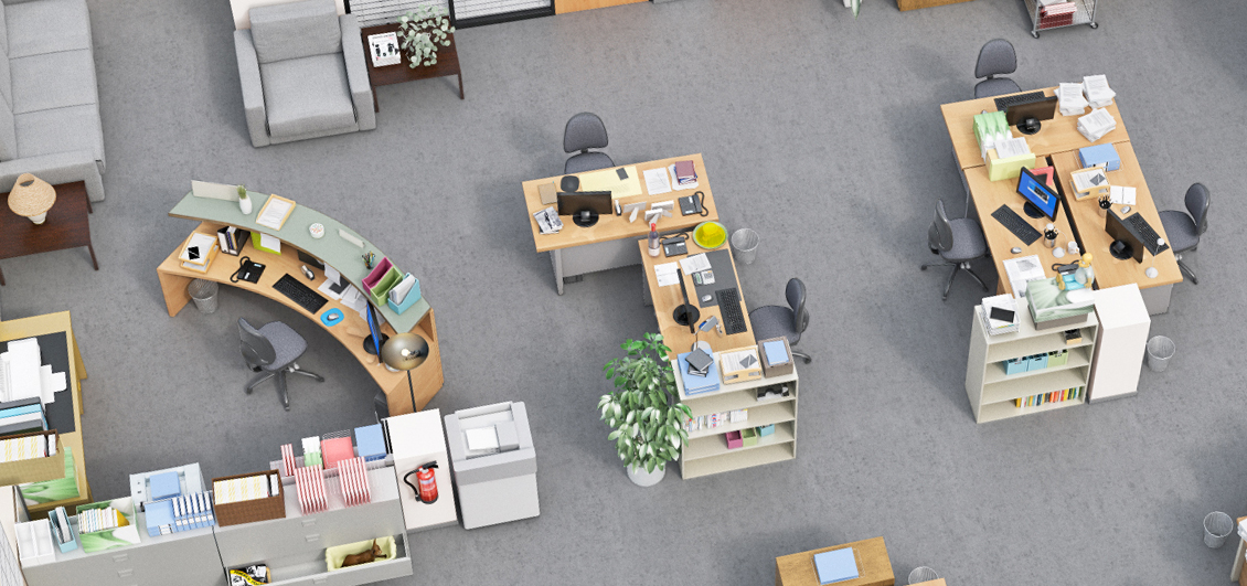 the office floor plan. The Office 3D Floor Plan