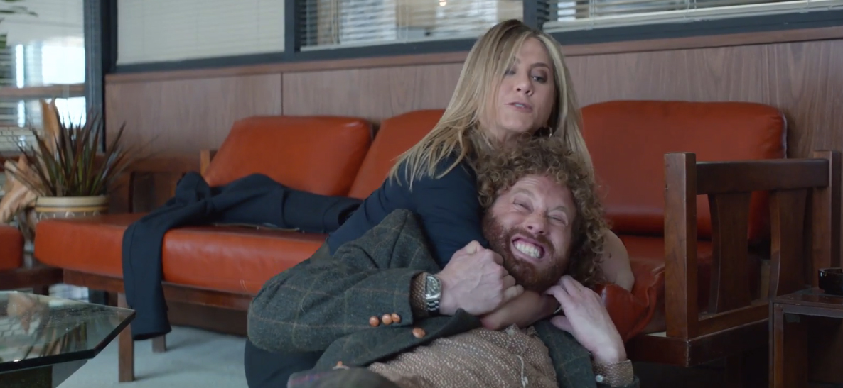 Office Christmas Party Clips: Headlocks, Holiday Mixers & \'Gone Girl ...