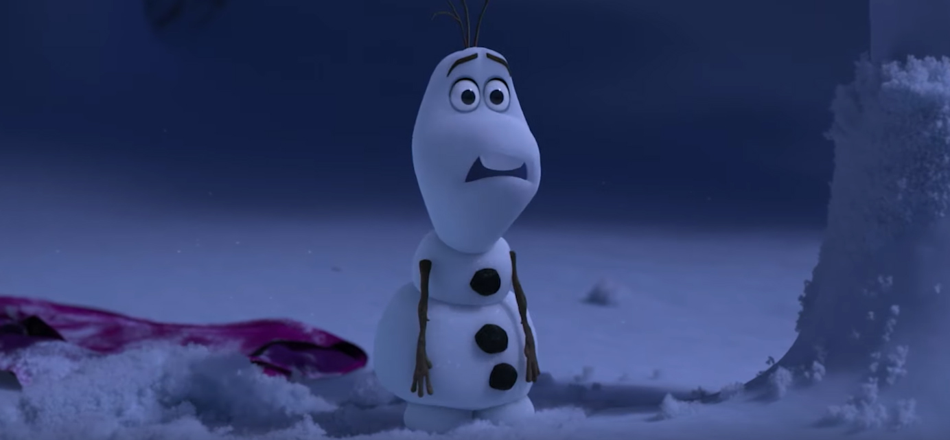 Once Upon a Snowman Clip: Olaf Becomes Self-Aware – /Film