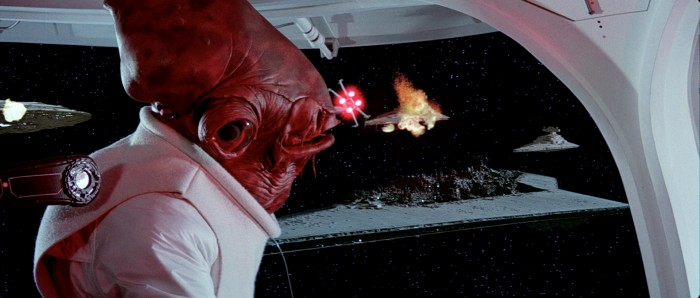 Admiral Ackbar return of the jedi