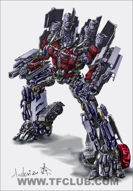 New Optimus Prime Concept Art?
