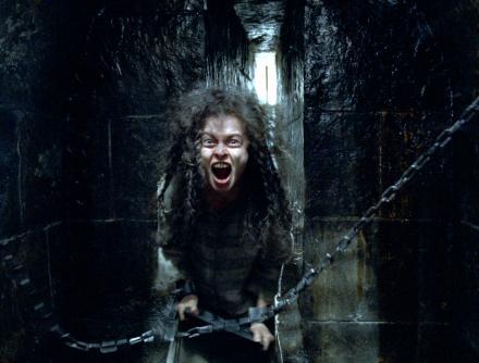 Bellatrix Lestrange in prison