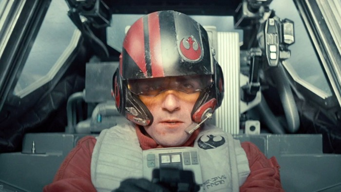 Oscar Issac in Star Wars: The Force Awakens