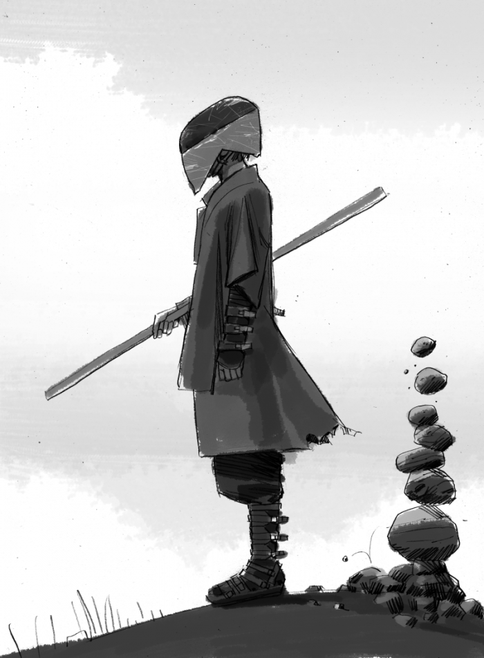 Force awakens concept art jedi killer