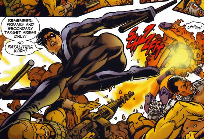 Nightwing Dick Grayson