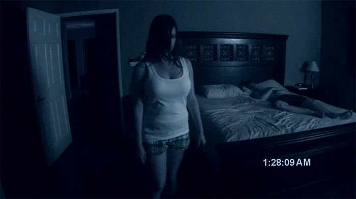 Paranormal Activity prank