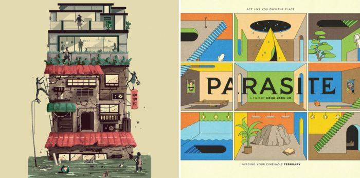 parasite movie art