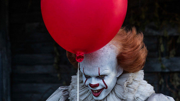 pennywise and his balloon
