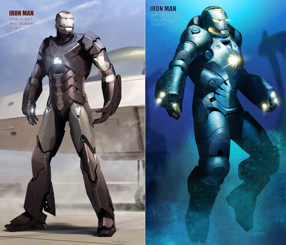 Iron Man: Official War Machine Concept Art