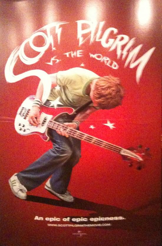Scott Pilgrim Poster ShoWest