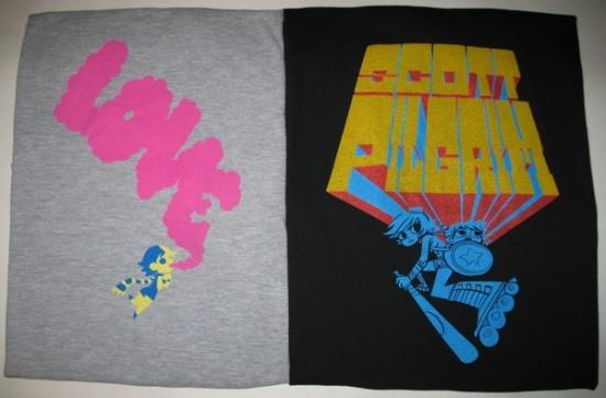 scott pilgrim shirts con