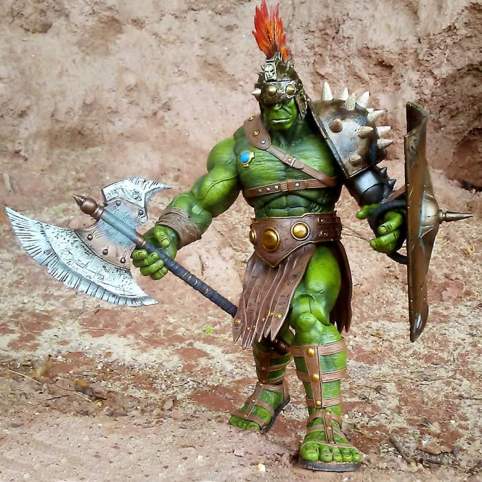 Planet Hulk - Marvel Select - Gladiator Hulk