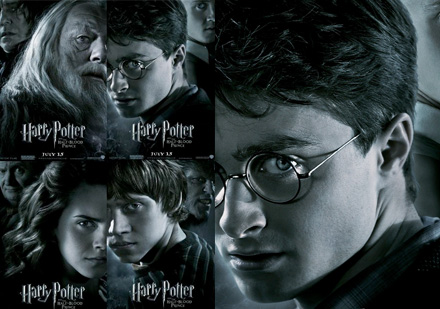 potter character banners