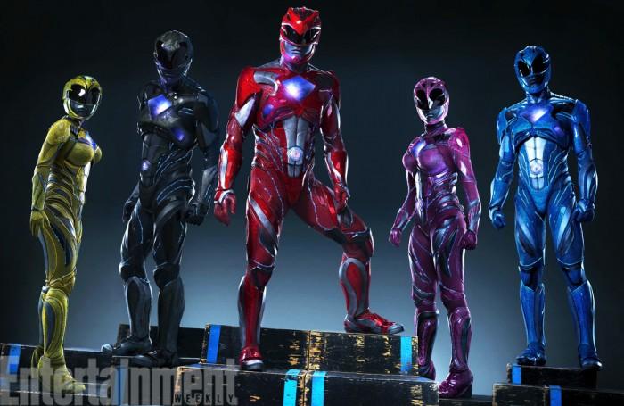 power rangers suits