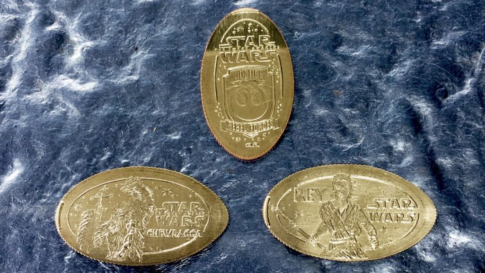 pressed coins