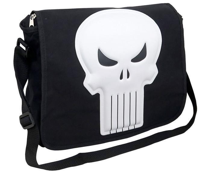 The Punisher - 3D Logo Messenger Bag