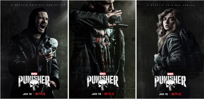 The Punisher Season 2 Posters