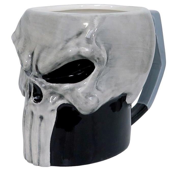 The Punisher Sculpted Mug