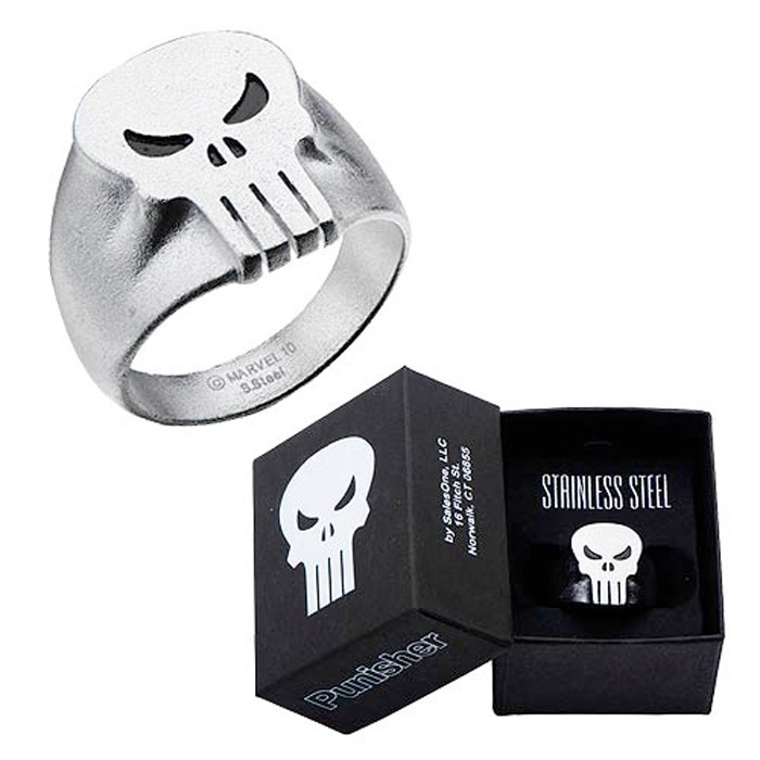 The Punisher Steel Ring