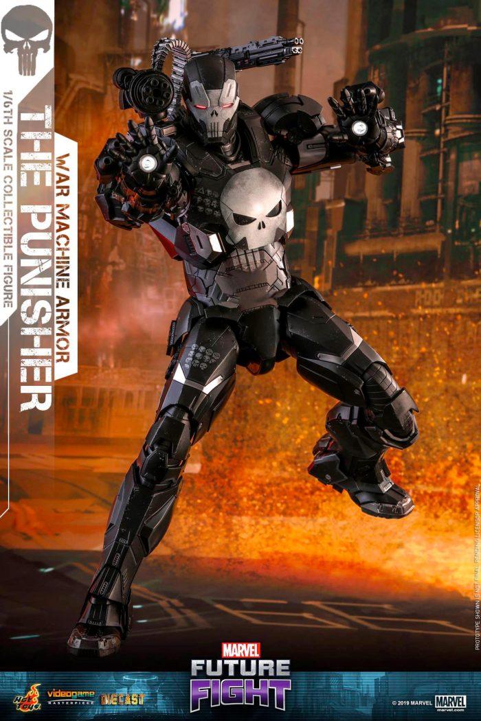 Punisher as War Machine - Future Fight - Hot Toys Figure